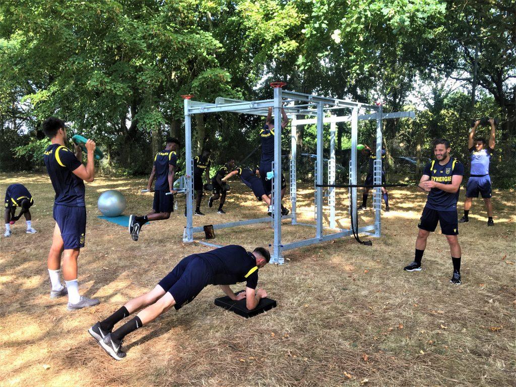 Circuit training du FC Nantes sur la Box PPO©