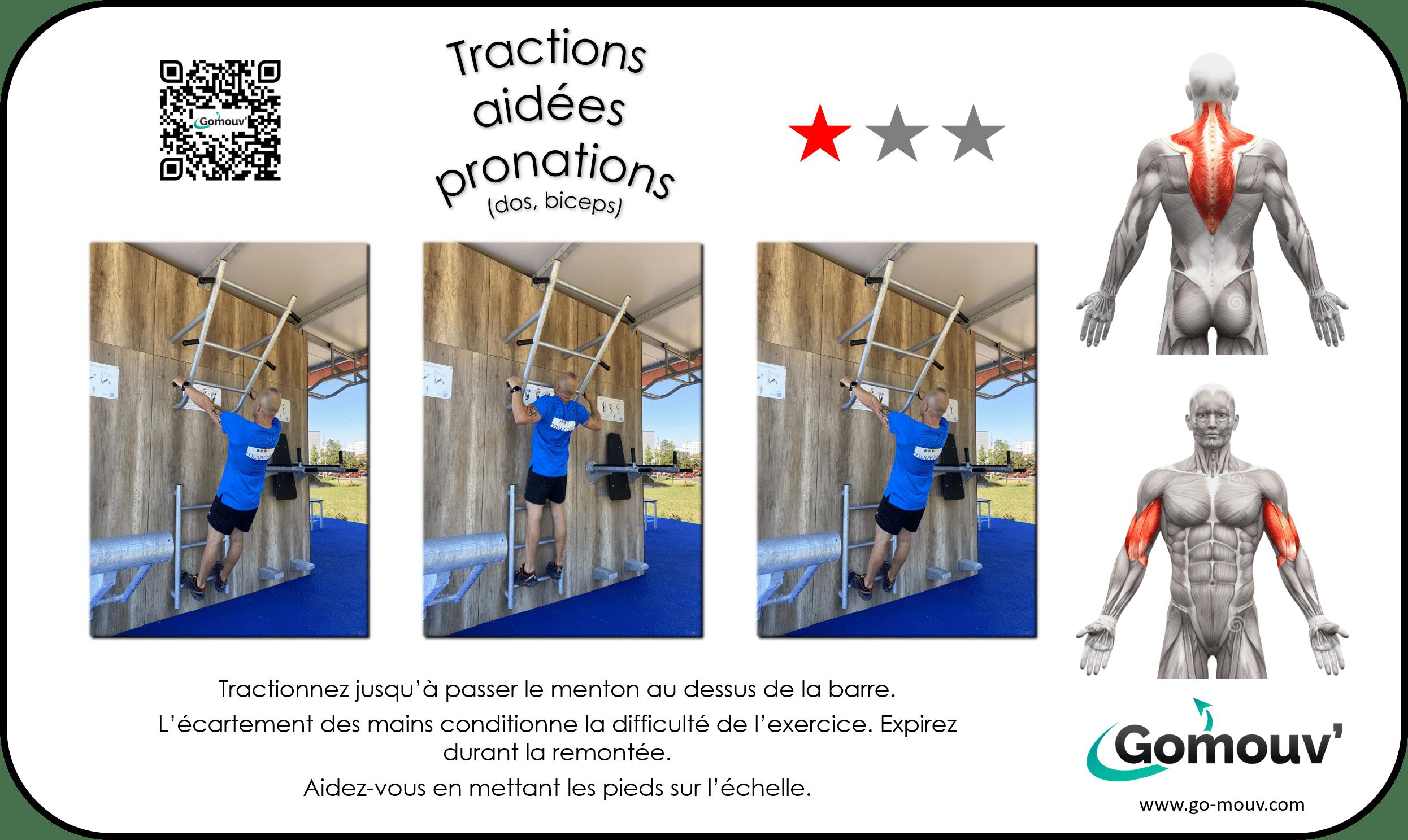 H - 02 - Tractions aidées pronations